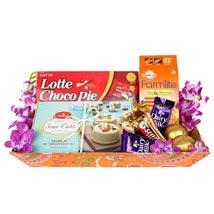 Sweet n Chocolaty Hamper: Diwali Sweets Abu Dhabi