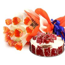 Sweet Surprise Combo: Romantic Gift Delivery UAE Dubai