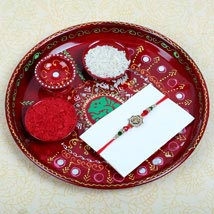 Aum Fancy Rakhi and Puja Thali: Rakhi to London Boroughs