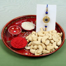Celebration Cashew Nuts with Rakhi: Rakhi to London Boroughs
