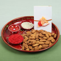 Celebration with Almonds: Send Rakhi to London Boroughs