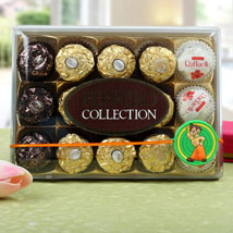 Chota Bheem Ferrero Rocher Rakhi Hamper: Rakhi to London Boroughs