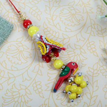 fancy parrot Designer Lumba: Send Rakhi to London Boroughs