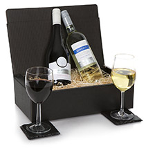 French Two Bottle Wine Selection: Send Mothers Day Gifts to UK