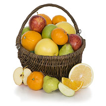 Fruit Basket With Chocolates: Gifts for Mothers Day