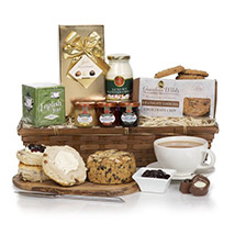 Mothers Day Cream Tea Deluxe: Send Mothers Day Gifts to UK