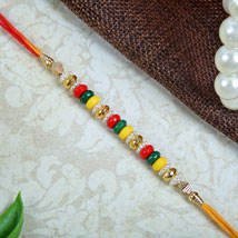 Multicolour Fancy rakhi: Rakhi to London Boroughs