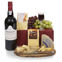 Port and Cheese Selection: Gifts for Mothers Day