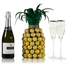 Prosecco Pineapple For Her: Gifts for Mothers Day