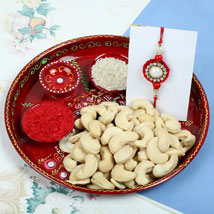 Raksha Bandhan with Cashew Nuts: Send Rakhi to London Boroughs