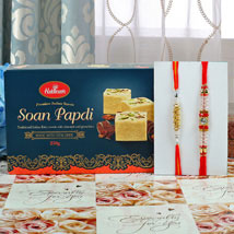 Soan Papdi with Rakhi: Rakhi to London Boroughs