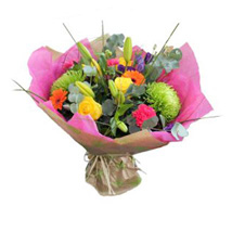 Vibrant Stylish Bouquet: Gifts for Mothers Day