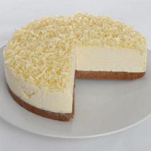 White Chocolate Truffle Cheesecake: Send Gifts to Leeds