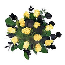 Yellow Roses: Flower Bouquets to UK