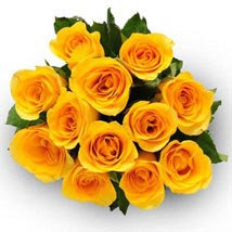 12 Yellow Roses: Send Flowers to Kansas City