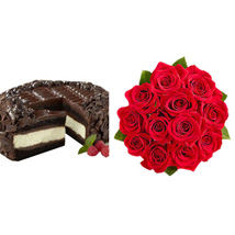 Chocolate Cheesecake and Roses: Send Birthday Gifts to Raleigh