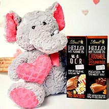 Chocolates With Soft Toy: Valentines Day Gifts to Manchester