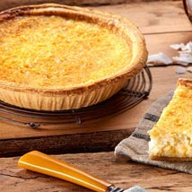 Coconut Custard Pie: Send Birthday Gifts to Raleigh
