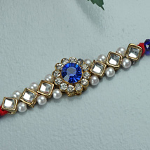 Color Him Blue Rakhi: Send Rakhi to Pittsburgh