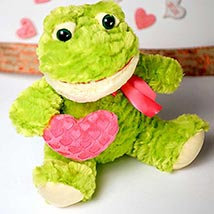 Cute Froggy Soft Toy: Valentines Day Gifts Manchester