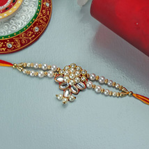 Embellished Rakhi: Send Rakhi to Pittsburgh