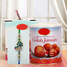 Gulab Jamun N Rakhi: Send Rakhi to Pittsburgh