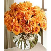 Long Stem Orange Roses: Send Birthday Gifts to Raleigh