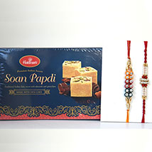 Soan Papdi N 2 Rakhis: Send Rakhi to Pittsburgh