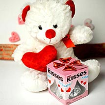 Teddy With Kisses: Valentines Day Gifts to Manchester