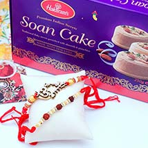 Two Rakhis N Soan Cakes: Send Rakhi to Pittsburgh