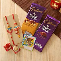 Unforgettable Rakhi Family hamper: Rakhi to Pittsburgh