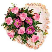 Flower Heart wes: Send Gifts to West-Indies